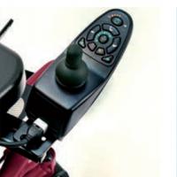 controles de la silla de ruedas eléctrica para emplear