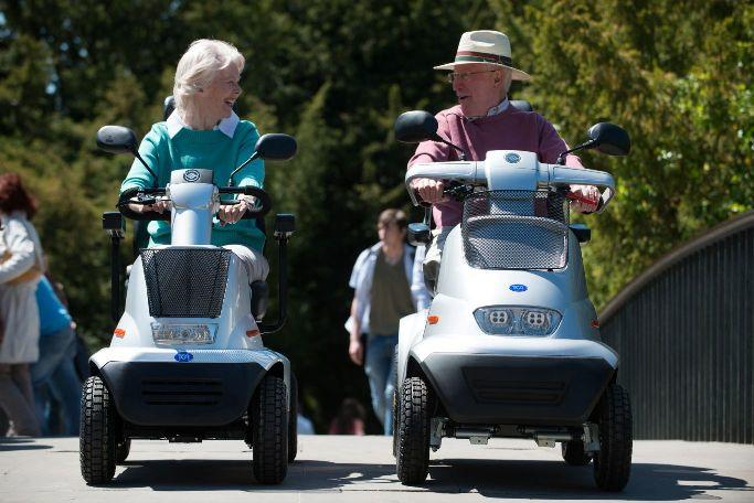 car-scooter-elderly
